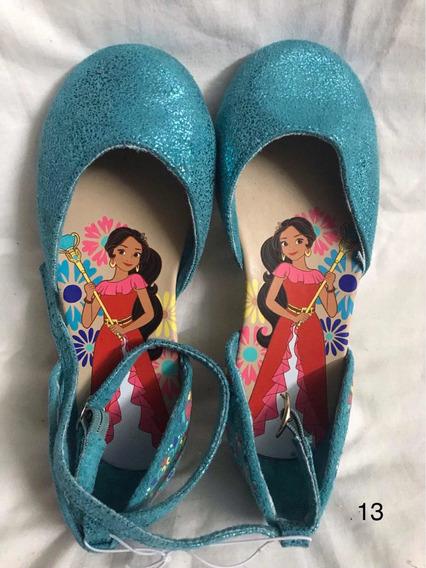 Zapatos Princesa Elena De Avalor Talle 31