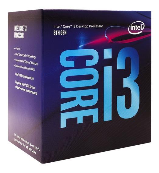 Procesador Intel Core I3 8100 3.6ghz 6mb 8va Gen 1151 Cuotas