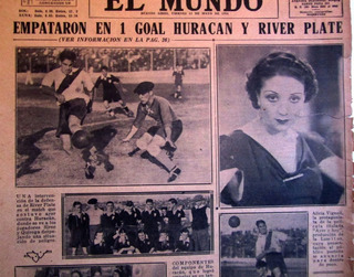 River Plate 30 Antiguos Diarios Fotos Noticias 1930s Futbol
