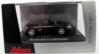 Mercedes Benz Sls Amg Roadster - Escala 1/87 H0 Schuco