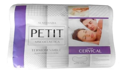 Almohada Fiberball Sensitive Petit Cervical Viscoelastica