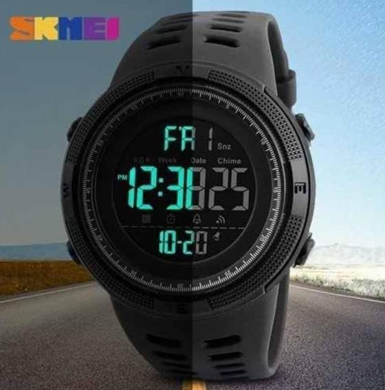 Relógio Esportivo Masculino Digital Led Skmei