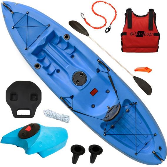 Kayak Sit On Top Honu Combo 1 + Cajon Respaldo Rigido Pesca