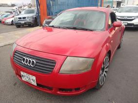 Audi Tt 2000 Rojo Std Rines $29,000 Eng Credito Directo Hoy!