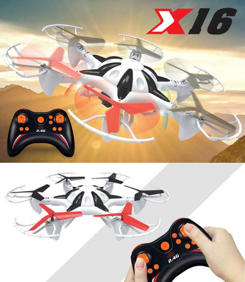 Drones X16 Space Xplorer Camara 4 Canales Rango 100 Pies R5