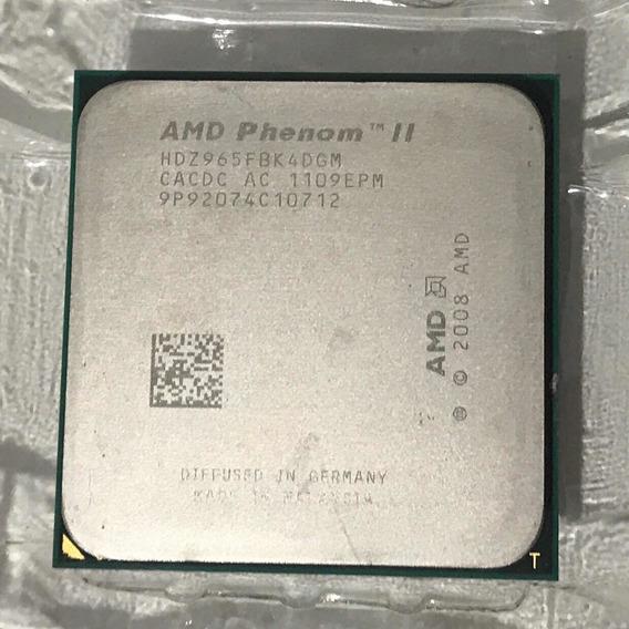 Amd Phenom Ii X4 965 Black Edition - Hdz965fbk4dgm