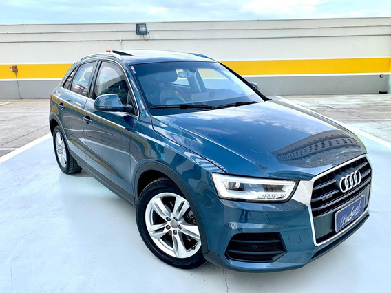 Audi Q3 2.0 Tfsi Ambiente Quattro - 2016 - Blindado - Bx Km