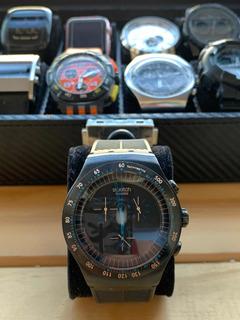 Reloj Swatch Irony Black Quartz Yob103 2010