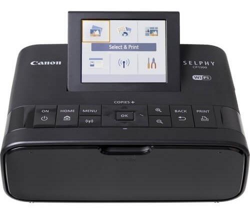 Impressora Fotográfica Canon Selphy Cp1300 Com Wi-fi (preta)