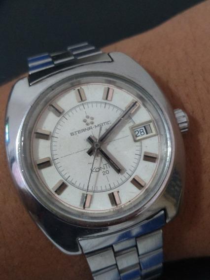 Relógio Eterna Matic Kontiki 20 Selo De Ouro!!!