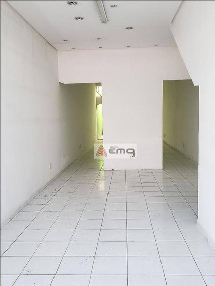 Salão Para Alugar, 146 M² Por R$ 4.000,00/mês - Tatuapé - São Paulo/sp - Sl0050