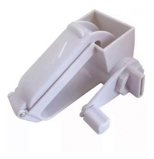 Rallador Manual Rotativo De Queso Vegetales Acero Plastico