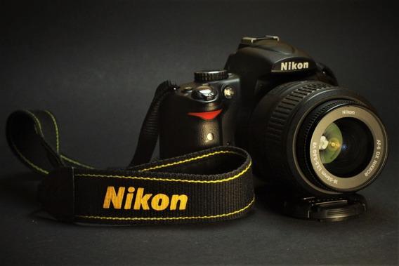 Câmera Nikon D5000 Com Lente - Nova!