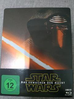 Star Wars The Force Awakens Blu Ray Steelbox