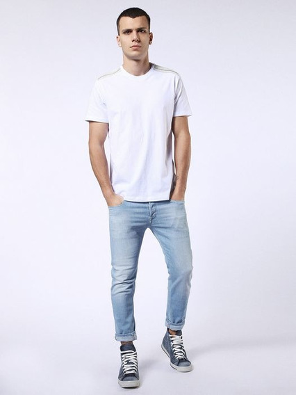 Playera Diesel Hombre T Gulle T Shirt White Small