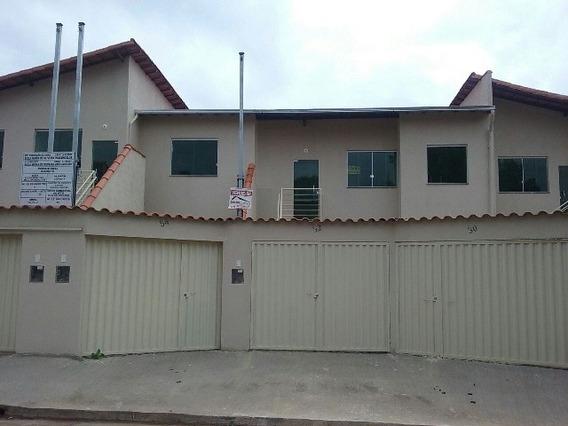 Casa Geminada Individual Dois Quartos Bairro: Rosano Ribeirão Das Neves. - Lis1527