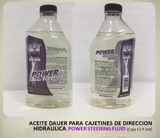 Aceite Cajetines De Direccion Hidraulica Power Steering Flui