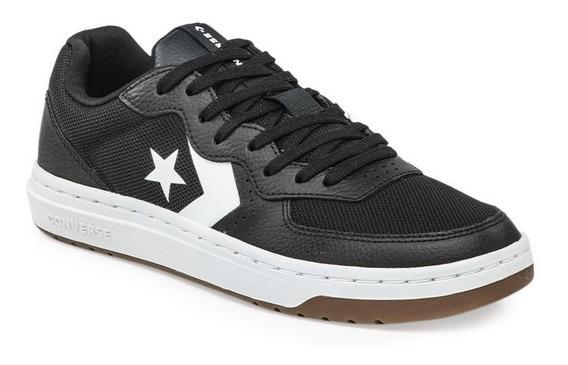 Zapatillas Converse Modelo Rival Ox Negro Blanco 2020