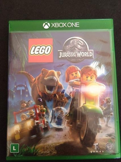 Lego Jurassic World Xbox One Mídia Física Original Perfeito