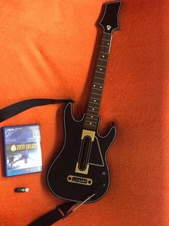 Guitarra + Juego Ps4 Guitar Hero