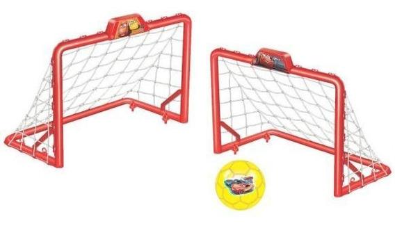 Chute A Gol Carros 586 Líder Brinquedos - Vermelho