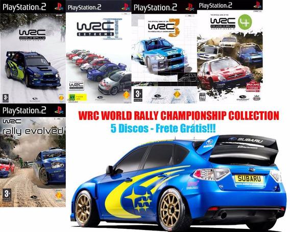 Wrc: World Rally Championship Playstation 2 (kit 5 Jogos Ps2