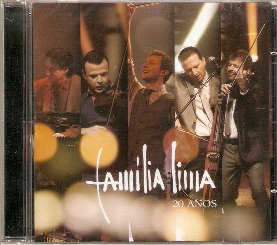 Cd Família Lima - 20 Anos - Novo***
