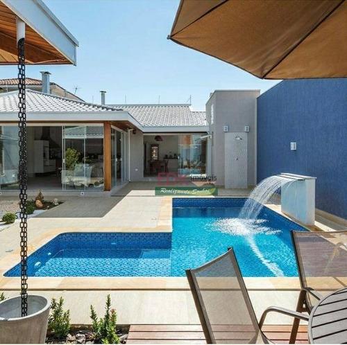 Imagem 1 de 1 de Casa Com 2 Dormitórios À Venda, 300 M² Por R$ 1.170.000,00 - Parque São Jorge - Taubaté/sp - Ca6096