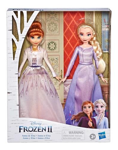 Disney Frozen 2 Elsa Y Anna Set De Muñecas Originales