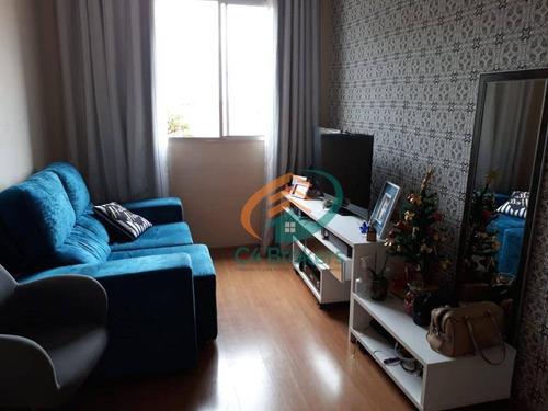 Imagem 1 de 18 de Apartamento Com 2 Dormitórios À Venda, 49 M² Por R$ 215.000 - Jardim Adriana - Guarulhos/sp - Ap0326