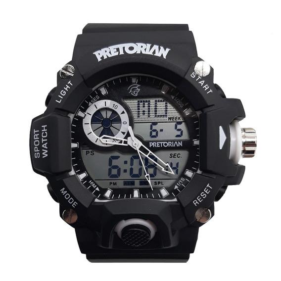 Relógio Pretorian Army Black/ White ( Wprt-04-1)