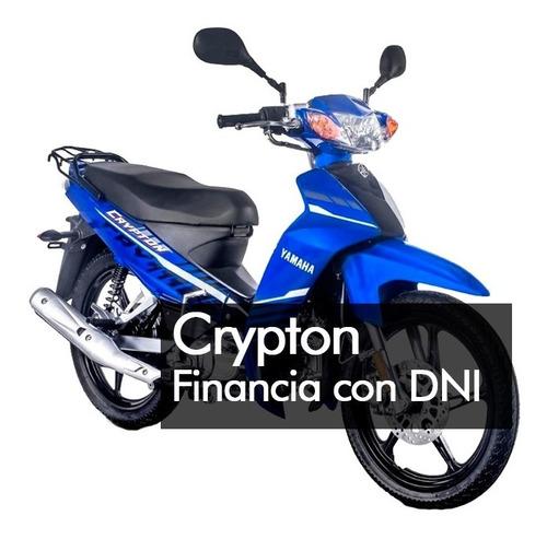 Yamaha  Crypton 110  Financia Solo Con Dni