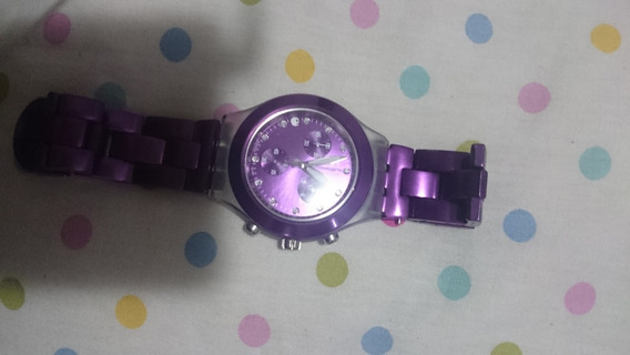 Relógio Swatch Full-blooded Purple