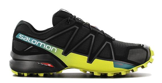 Zapatillas Salomon Speedcross 4 Negras/ama Hombre Outdoor