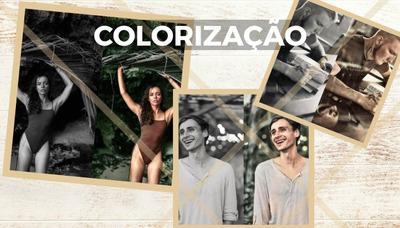 Faço Coloração De Fotos Preto E Branco