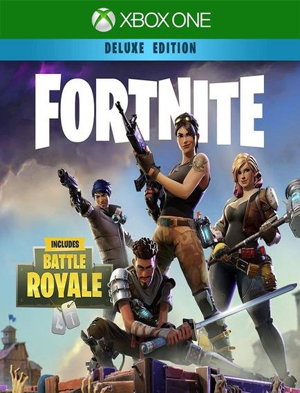 Fortnite Fundador Deluxe Xbox One - 25 Dígitos (envio Já)