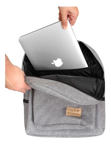 Mochila Urbana Mujer Hombre Notebook Impermeable Reforzada