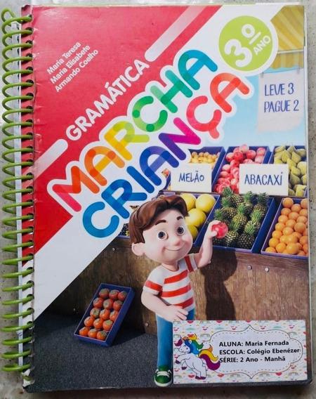 Livro De Gramática - Marcha Criança 2° Ano
