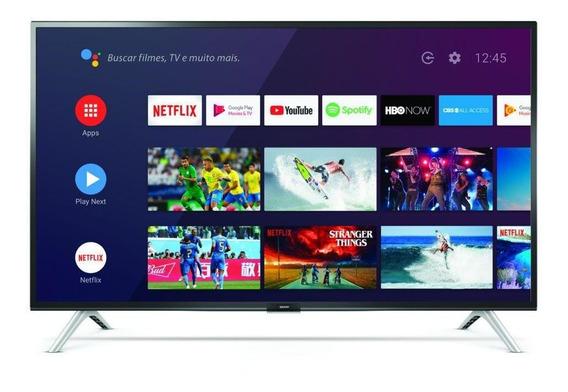 Smart Tv 32 Semp 32s5300 Led Hd Hdmi Usb Comando De Voz
