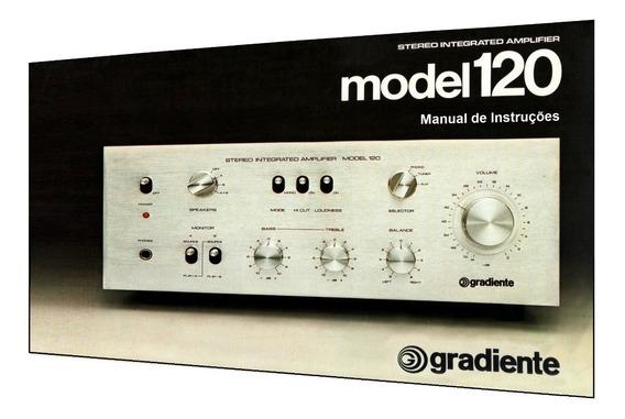Manual Do Amplificador Gradiente Model 120 (cópia Colorida)