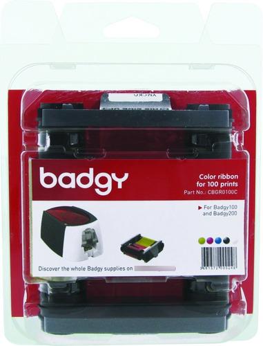 Imagen 1 de 4 de 1 Cinta Ribbon Color Para Cien Imagenes Impresora Badgy 100