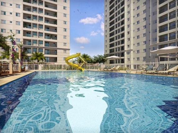 Apartamento Para Venda Em Santos, Marape, 2 Dormitórios, 1 Suíte, 1 Banheiro, 1 Vaga - St029_2-759862