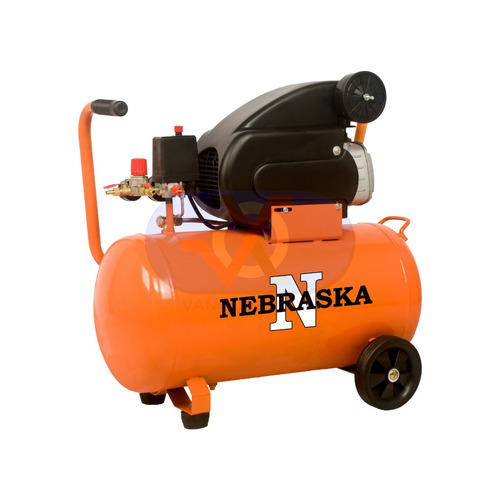 Compresor De Aire Nebraska 50l 1500w 2hp 115psi 8bar Sin Int