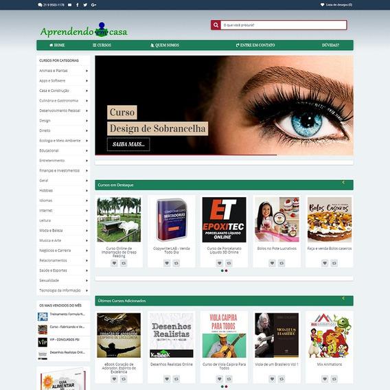 Vendo Loja Virtual De Venda De Produtos De Afiliados Hotmart
