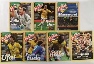 Revistas Placar Copa 2014 Jogos Seleção & Final - 7 Edições