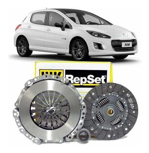 Kit Embreagem Peugeot 308 1.6 16v 2012 A 2018 Luk 6203086000