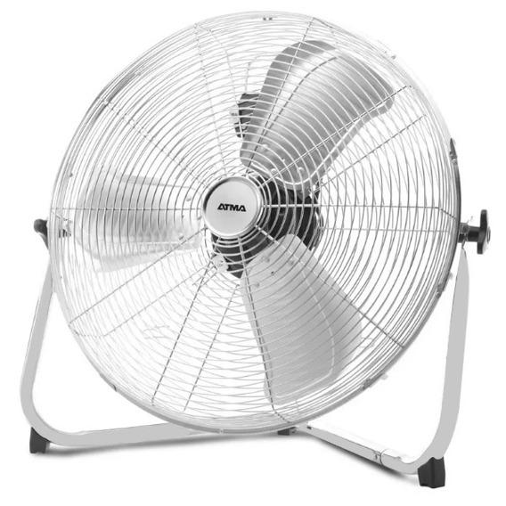 Ventilador Turbocirculador De Pie 20 Atma Vta2018x Gris