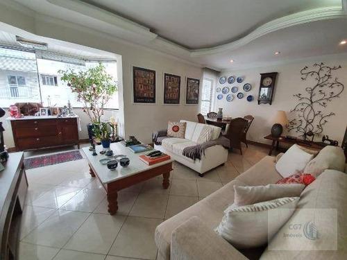 Otimo Apartamento 122m² Na Região Do Centro De Alphaville - Ap1635