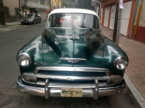 Chevrolet 1951, Placas Auto Antiguo, Original, Remato Cambio