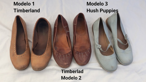 Zapatos Cuero Legitimo Dama 40 Timberland Hush Puppies Leer